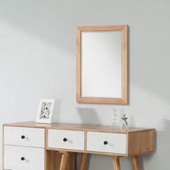 [잉카]다용도 소나무원목 벽거울 / 화장대거울