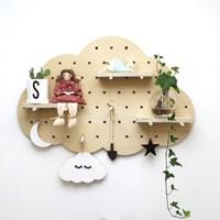자작나무 구름 타공판