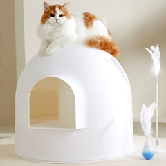 피단스튜디오 이글루 고양이 화장실