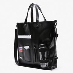DOCUMENT TOTE BAG (BLACK)_(400611725)
