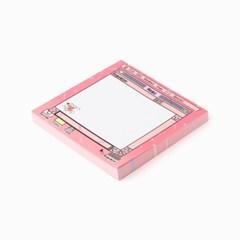 (10x10) M.P.R memo pad_pink
