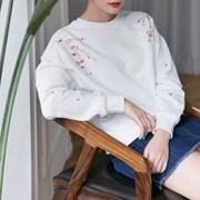 [마이블린] 벚꽃 흩날리며 맨투맨 (3color)_(464543)