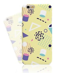 Yellow Abstract Pattern (HE-27A) Hard Case
