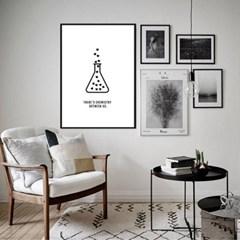 모던 북유럽 인테리어 액자 포스터 신혼집 하트