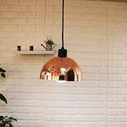 LED 핑크골드 헤미스피어 1등 펜던트