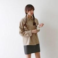 Cotton snap button jacket