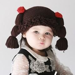 Cabbage Wig Hat 3color
