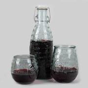 San Miugel Juice Bottle (디켄터) 1L + Vino 2P