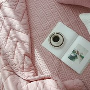 로리 핑크 차렵 퀸 베딩세트