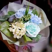 [조화꽃다발] 레이첼 블루
