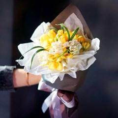 [조화꽃다발] 베키후리지아