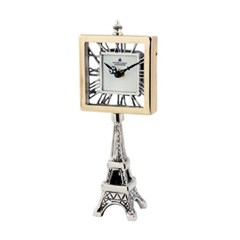 [ATELIER] TK 사각에펠탑 탁상시계(니켈)
