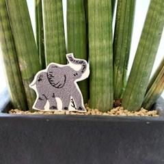 코끼리 와펜