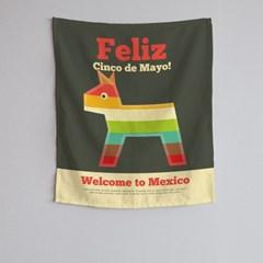 벽에거는천 멕시코 패브릭포스터 MXT시리즈