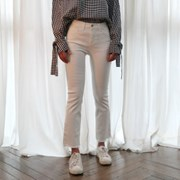 Easy straight cutting pants