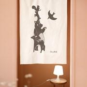 코니테일 패브릭 포스터 - 동물친구들 (아이방꾸미기,_(876032)