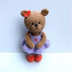 [손뜨개 DIY]손뜨개인형-내사랑곰쑤니