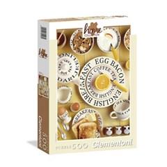 500조각 직소퍼즐▶ 부분코팅 - 아침 식사 (CL30405)