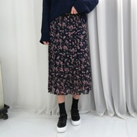 Rose flower skirt(2colors)