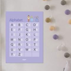 알파벳포스터,학습포스터,,아이방포스터