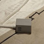 브런트 코드- 220V와 USB충전 컴팩트 멀티탭