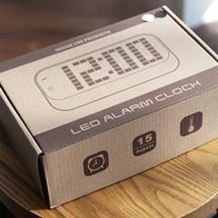 LED 거울 디지털시계(2color)_(1160808)