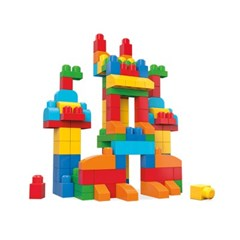 [메가블럭] 우리아기 첫블럭 디럭스 빌딩백 150pcs_(595852)