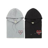 NOMANTIC HEART LOGO 1/2 HD BLACK