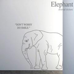 동물 월데코_ 코끼리