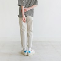 Basic cotton cutting pants