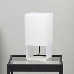 큐브 테이블 스탠드 (LED 전구 포함)