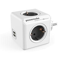 [파워큐브] 오리지널 USB형 휴대용 멀티탭