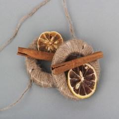 레몬노끈칭칭이 석고방향제