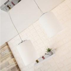 LED 쉘 펜던트2등