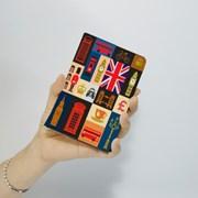 [문구서비스] 영국패턴 여권 케이스