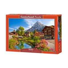 500조각 직소퍼즐▶ 스위스 마을 풍경 (LD52363)
