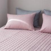 스트라이프 침대패드-핑크 싱글퀸(SQ).