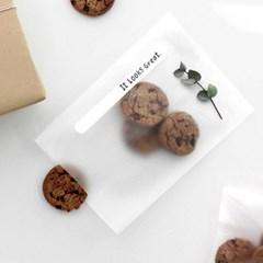 반투명 쿠키 봉투(M/20개)