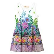 플로럴 프린세스 드레스