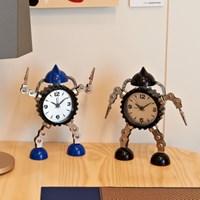 인테리어 알람시계 로봇디자인 RB2703 (건전지 포함)