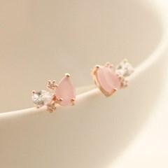 Rose Petal earring