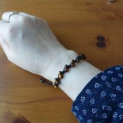 [쁘띠메이]천연 호안석 매듭팔찌