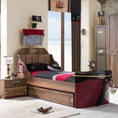 해적선 침대