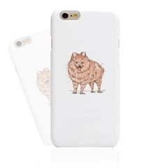 Watercolor Brown Dog (HA-021A) Hard Case