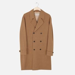 Relax Double Button Trench (Camel)