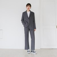 Daily modern basic suit set