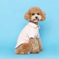 [플로트]어썸 폴로 티셔츠-핑크
