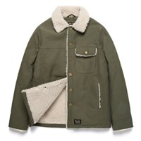 [URBANPLAYERS] BOA FUR DECK JACKET(KHAKI)_(635501)