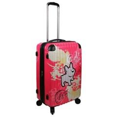 Cute Buddy-핑크 24형 캐리어 여행가방