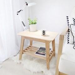 [스크래치] 원목 사이드테이블